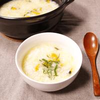 お鍋で米から炊く!簡単おいしいかぼちゃ粥