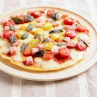 フライパンでお手軽ピザ