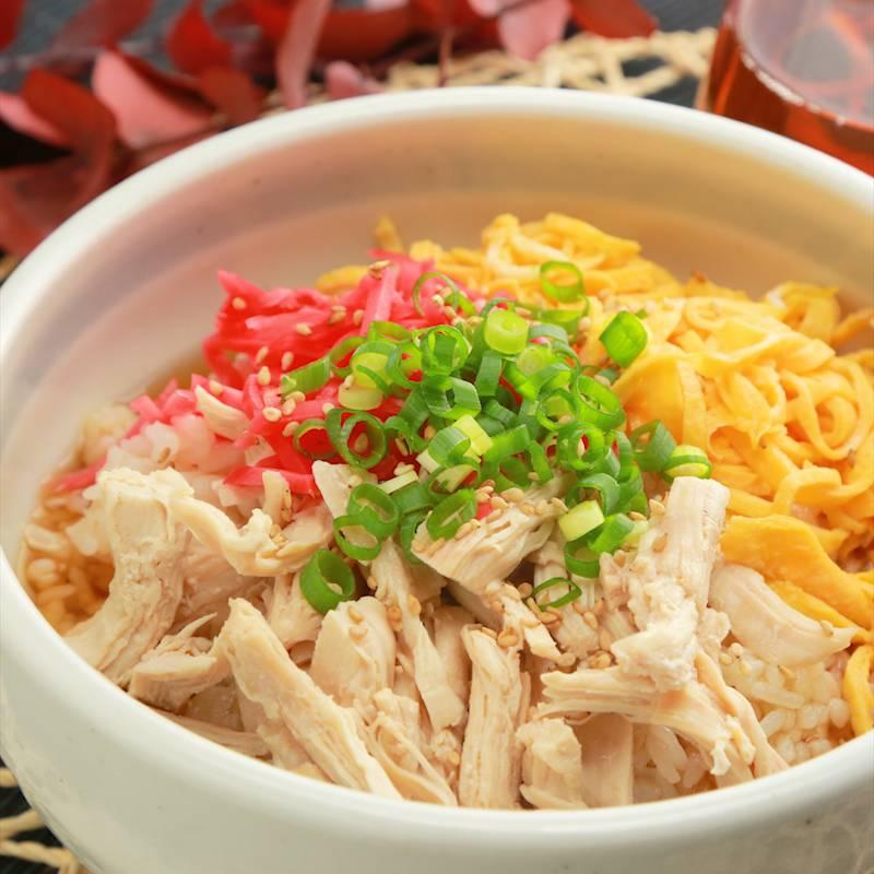 奄美料理をご家庭で たっぷりお出汁の鶏飯風 作り方・レシピ