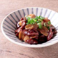 砂肝と生姜の甘辛煮