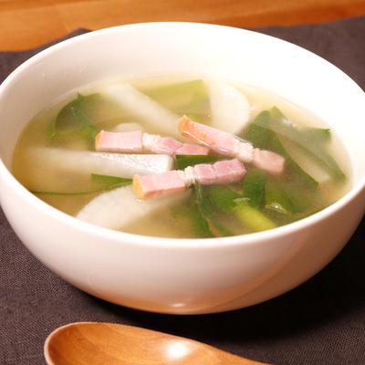 あたたか 大根スープ