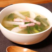 カラダポカポカ!大根スープ