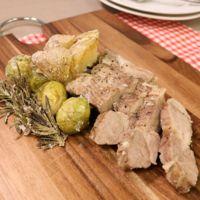 豪快に食べたい!豚かたまり肉と野菜の塩釜焼き