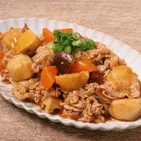豚バラ肉と里芋の辛味噌煮