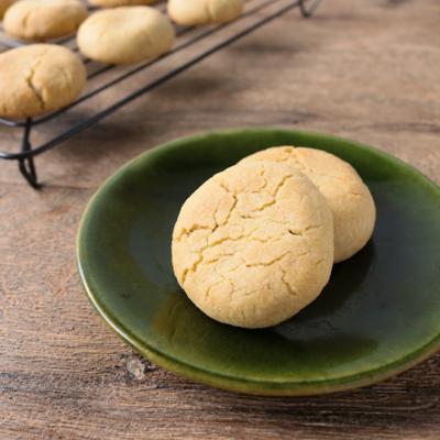 きな粉が香る和風チョコチップクッキー