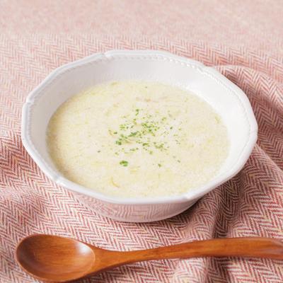 玉ねぎと豆乳のスープ