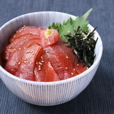 新生姜と食べるさっぱりマグロ丼