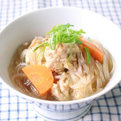 和風だし香る 肉団子スープ