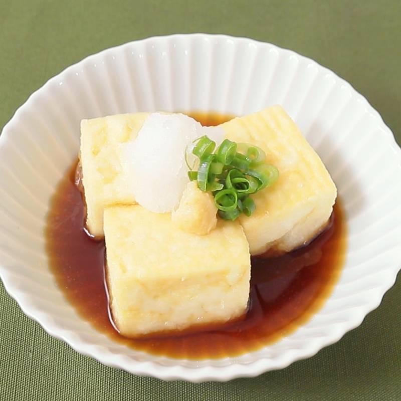厚 揚げ 揚げ 出し 豆腐