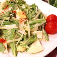 水菜のポン酢サラダ