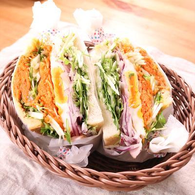 いつもと違う!贅沢山盛りサンドイッチ