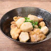 里芋と鶏もも肉の揚げ浸し