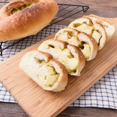 バジルチーズポテトパン
