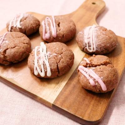チョコインストロベリークッキー
