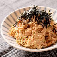 カット野菜で 納豆キムチの簡単キャベツサラダ