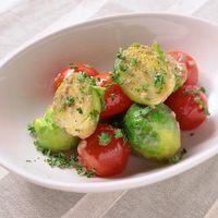 芽キャベツとミニトマトのアンチョビ炒め
