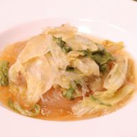 さっぱり美味しい!梅かつおの春雨スープ