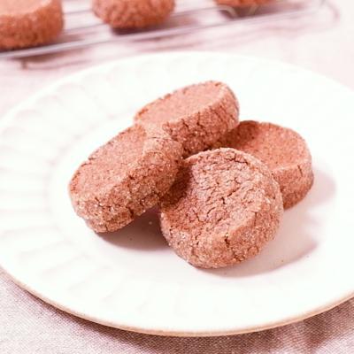 ココア風味のディアマンクッキー