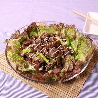 スタミナ満点!焼肉サラダ