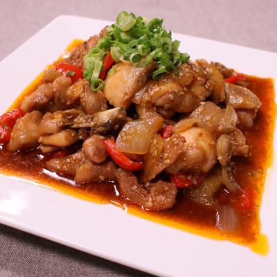 韓国風!鶏肉の旨辛炒め