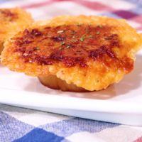 カリカリチーズ大根ステーキ