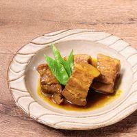 カレー風味の豚角煮