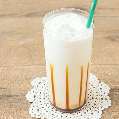 チーズクリーム黒糖ほうじ茶ミルク