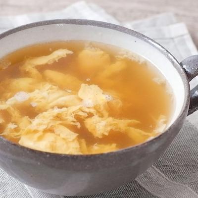 5分で簡単 コンソメスープ