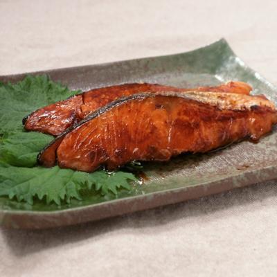 塩鮭のみりん焼き