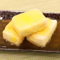 フライパンで簡単!揚げ出し豆腐のゆずあんかけ