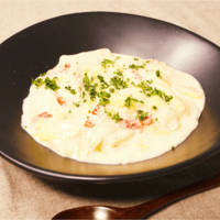白菜とベーコンのクリーム煮