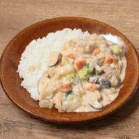 根菜の和風シチューライス