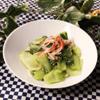 チンゲン菜とカニカマの簡単副菜