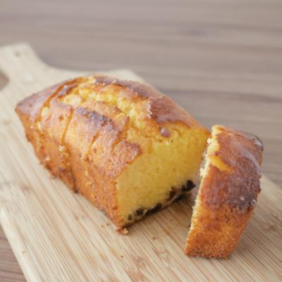 ラムレーズンとレモンのパウンドケーキ