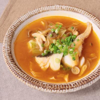 韓国風 タラのうま辛スープ