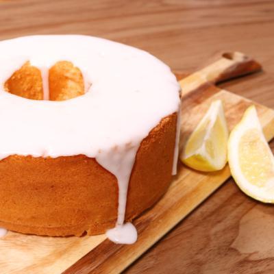 爽やか!レモンシフォンケーキ