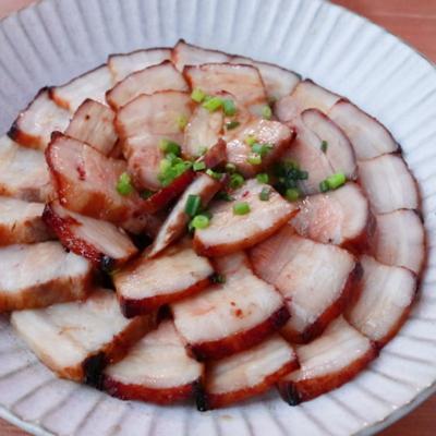 オーブンで簡単 豚バラブロックでジューシー焼豚