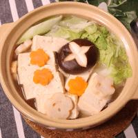 昆布ダシが美味しい!具だくさん湯豆腐
