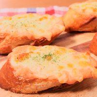 たらこマヨディップのチーズトースト