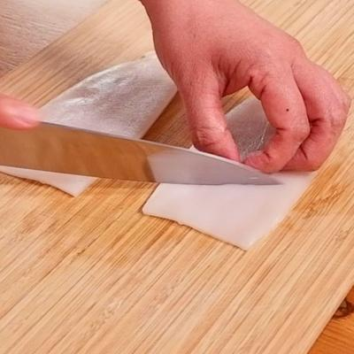 イカの刺身の切り方