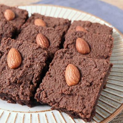 ノンオイルで おからのチョコレートブラウニー