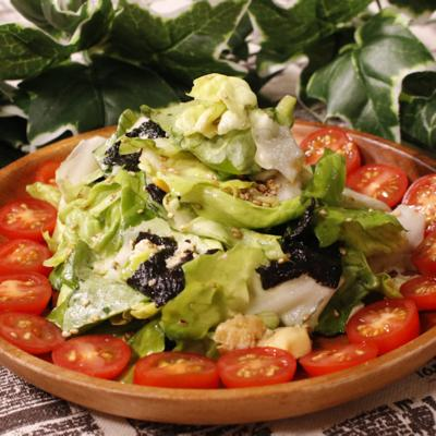 サラダ菜で!チョレギサラダ