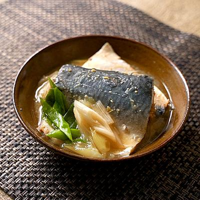 【シェフのレシピ帖・野永料理長】鯖の味噌煮