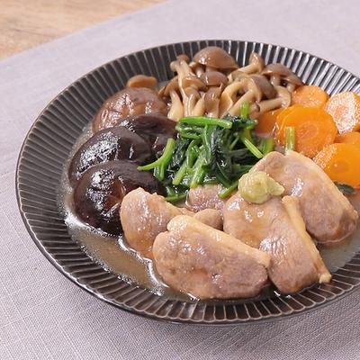 鴨肉の治部煮