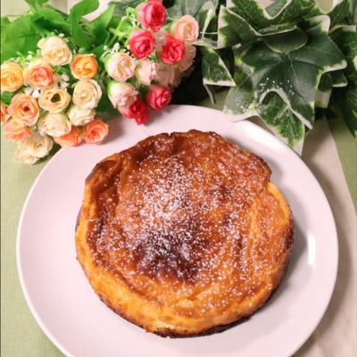 濃厚 マーマレードジャムとクリームチーズのケーキ