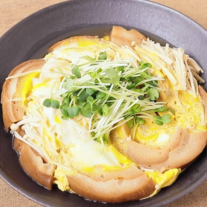 とじ お 麩 卵
