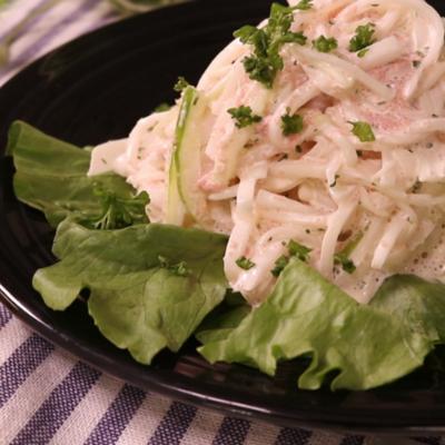 明太マヨの根菜サラダ