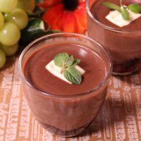 ちょこっと贅沢!チョコレートとマシュマロのムース