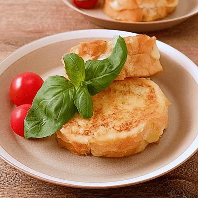 とろーりチーズのオーツミルクフレンチトースト