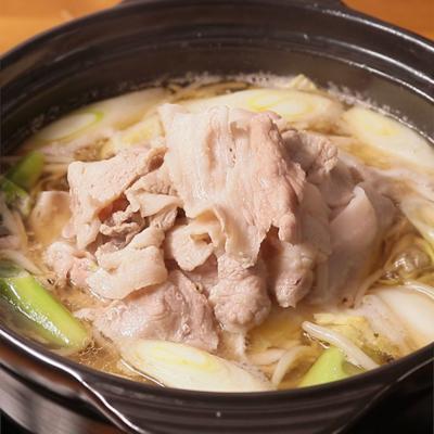 白菜たっぷり 肉山鍋
